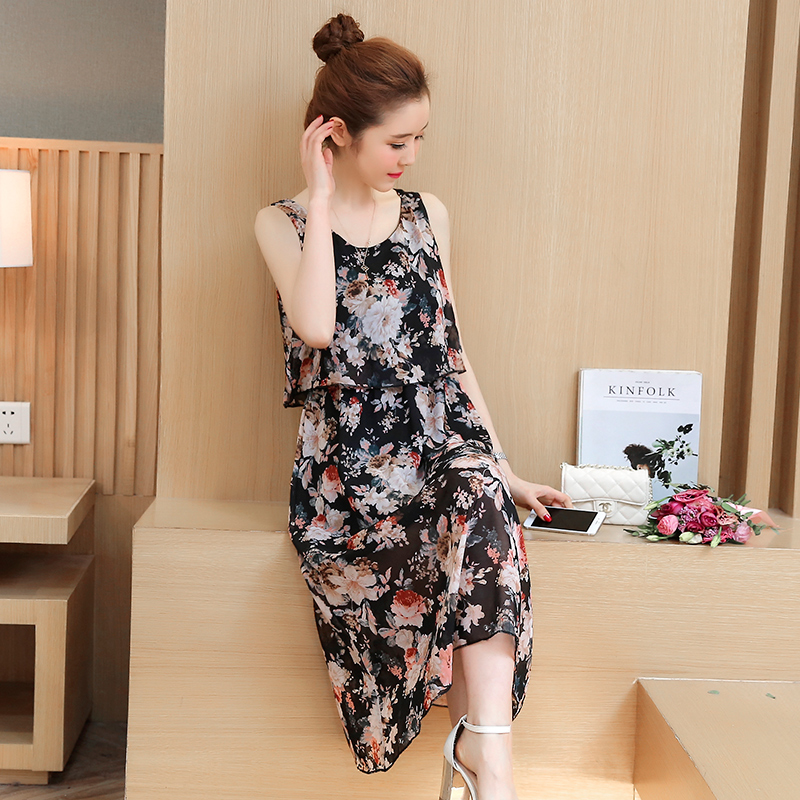 1e889a74d94d1 8031# Floral Printed Chiffon Maternity Nursing Sundress Summer Boho Beach  Long Breastfeeding Dress Clothes for Pregnant Women-in Dresses from Mother  & Kids ...