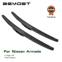 цена на BEMOST Car Wiper Blades Natural Rubber For Nissan Armada 2005 2006 2007 2008 2009 2010 2011 2012 2013 2014 2015 2016 2017 2018