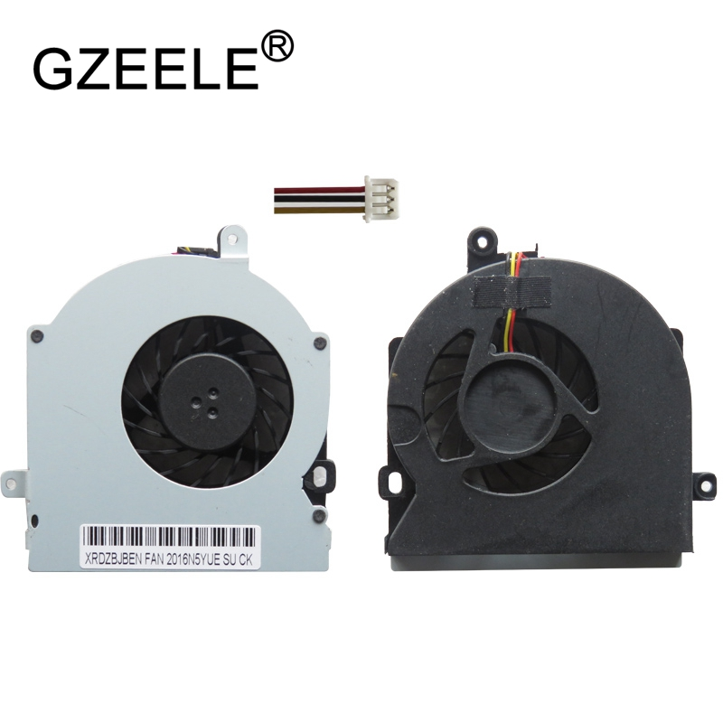 GZEELE New Laptop Cpu Cooling Fan For Toshiba For Satellite A300 A305 L300 L300D L305 L350 L355 Series Notebook Cooler Radiator