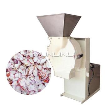 Ginger Slicing Machine Garlic/Ginger/Taro Slicer Commercial Ginger Processing Equipment QC-35 фото