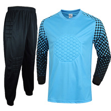 Long Sleeve Goal Keeper Soccer Sets Football Jerseys and Pants and Jacket Tracksuit Training Suit Adult Football Custom Uniforms
