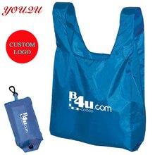 Складная хозяйственная сумка из полиэстера складная сумка для покупок по низкой цене