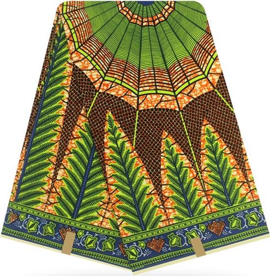 Afrikaanse stof afrikaanse echte waxprint afrikaanse wax prints stof tissus wax 12yards 100% katoen ankara stof voor patchwork BB78-in Stof van Huis & Tuin op  Groep 1