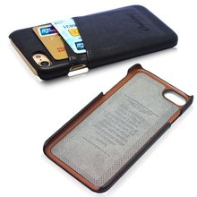 For iphone 7 case, Luxury PU Leather Back Cover for iphone 8 case ( 4.7 ) protective shield for man Cover shell coque capa radio pattern protective pc back cover case w front screen shield for iphone 5 grey