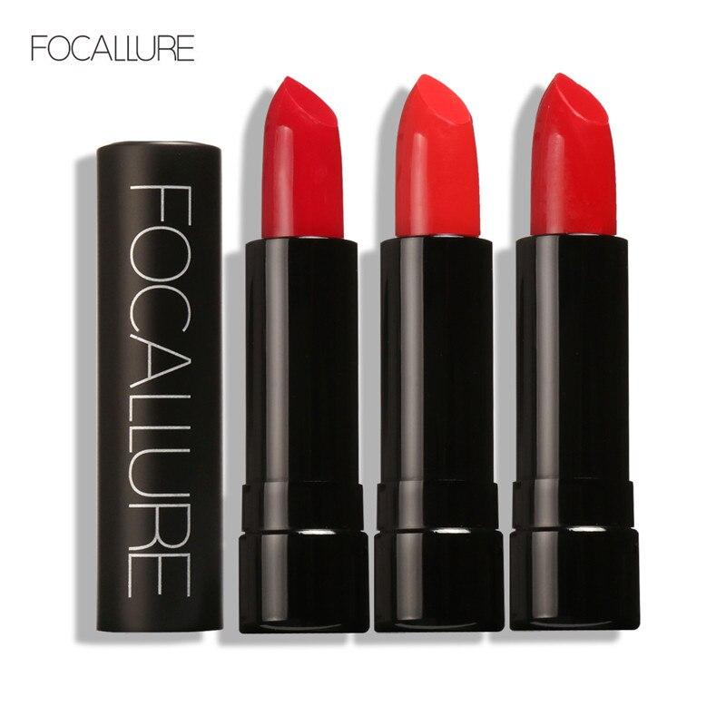 FOCALLURE 12 Colors Moisturizing Lip Stick Long Lasting Waterproof Red Liquid Lipstick