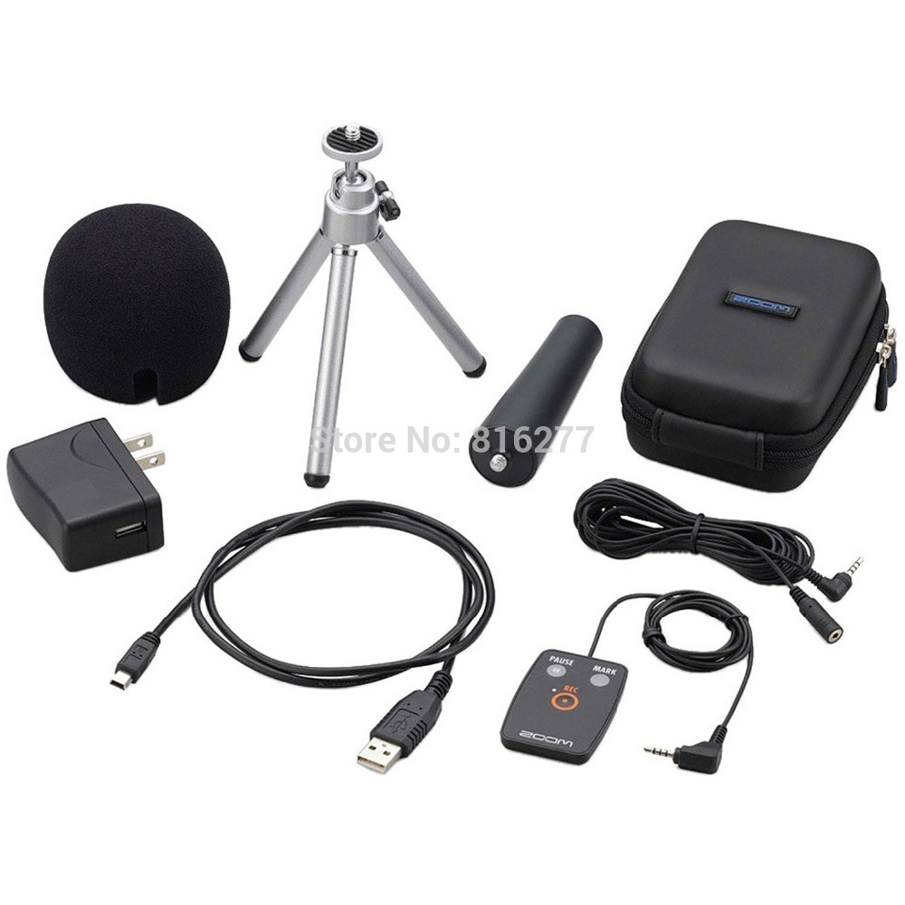 Professional Accessory Kit for recording pen Accessory Pack for ZOOM H2N APH 2n