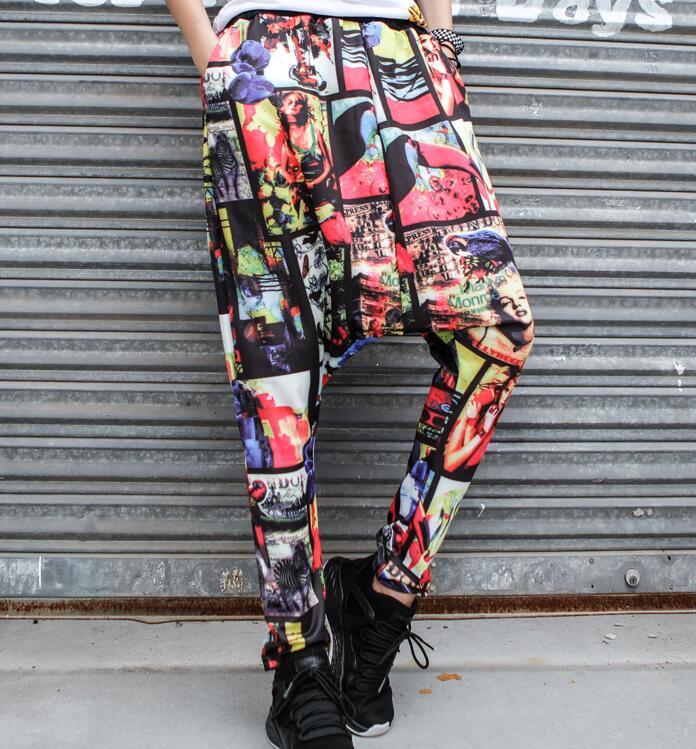 mostrar l Tenedor Color Caliente Primavera 2019 Grúa Pantalones De Mujeres Personalidad Photo Suelta S Pantalones Nueva Delgada Moda Haroun ZdHUxqC