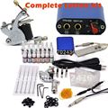 Rotary Tattoo Kit TaTtoo Machine Color Inks professional Tattoo gun Power Supply Power Tip Tube And Needles body art