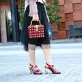 Fashion Party Итальянский Новый Дизайн лакированные Туфли И Соответствующие сумки Набор Африканских Женщин Насосы Дамы большой размер обуви для дам