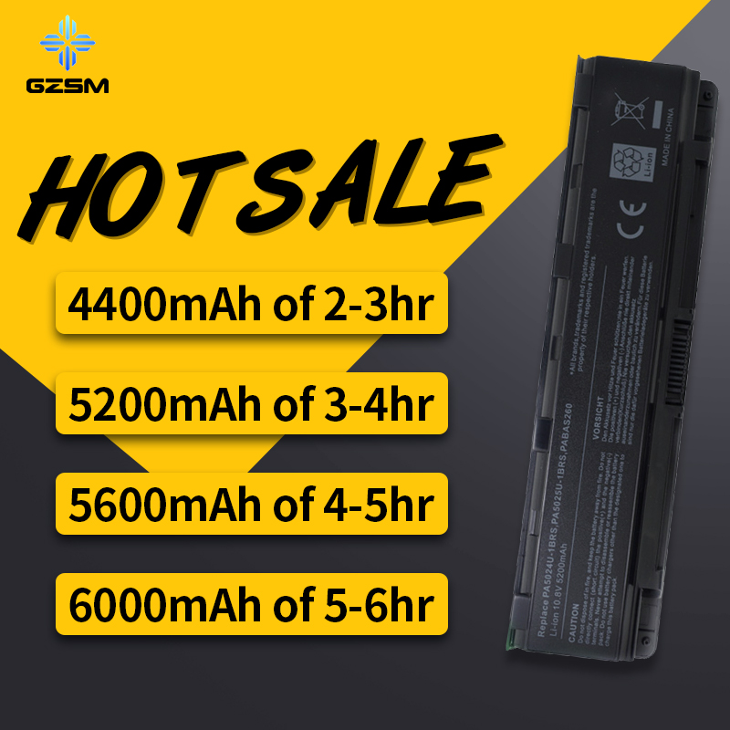 7907be7710ab HSW laptop battery for TOSHIBA Satellite Pro  C800,C800D,C805,C805D,C840,C840D,C845,C845D,C850,C850D,C855,C855D,C870,  bateria
