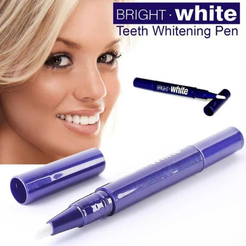 1Pc Portable Teeth Whitening Gel Pen Pro Tooth Cleaning Bleaching Brush Pencil Bright White Dental Pen Oral Hygiene