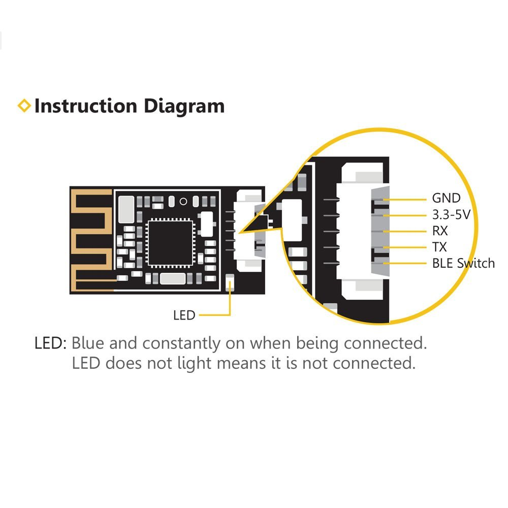 Buy Speedybee Bluetooth Uart Adapter Naza Osd Wiring Diagram Note If You Have Any Question Or Problem After Receive The Parcel Please Kindly Contact With Me Firstly I Am A Good And Honest Seller