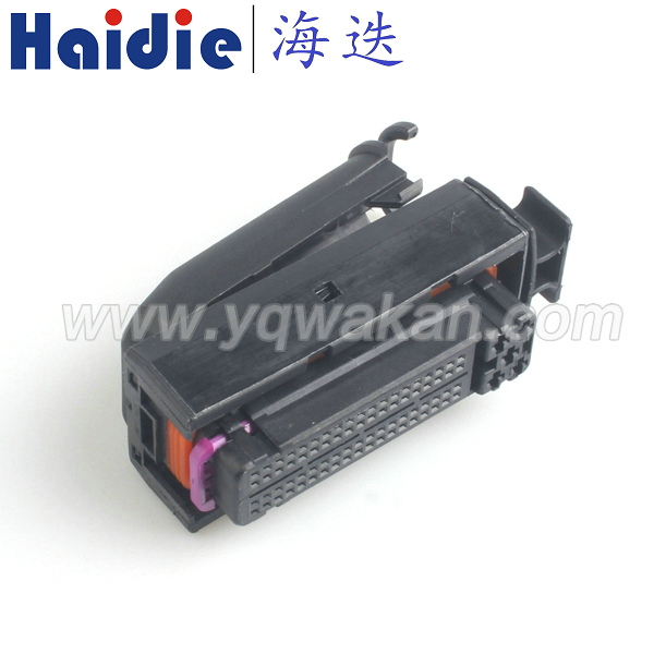 Free shipping 1set auto VW 81pin ecu connector electrical 81  ECU connector 1J0906385C 1J0 906 385C free shipping 1sets jae male 26pin plug for mx23a26sf1 electrical 26pin 26way ecu auto computer pin connector mx23a26nf1