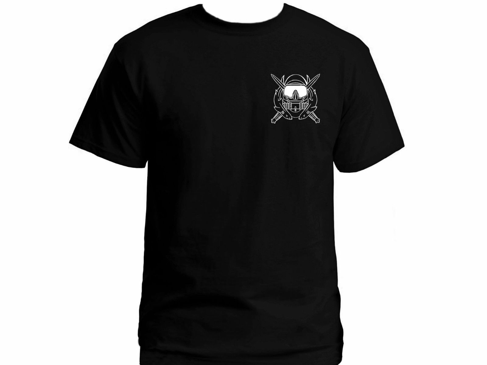 2019 US Army Special Operations Ops Diver Diver Black Graphic Military T-shirt