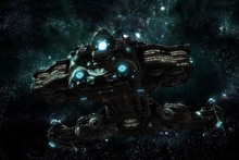 pc spacescape science fiction sci fi spaceship spaceships cloth silk art wall poster and prints
