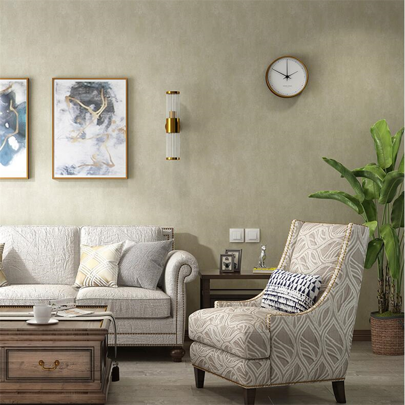 plain background solid retro sofa living wall non beibehang woven american zoom paper wallpapers