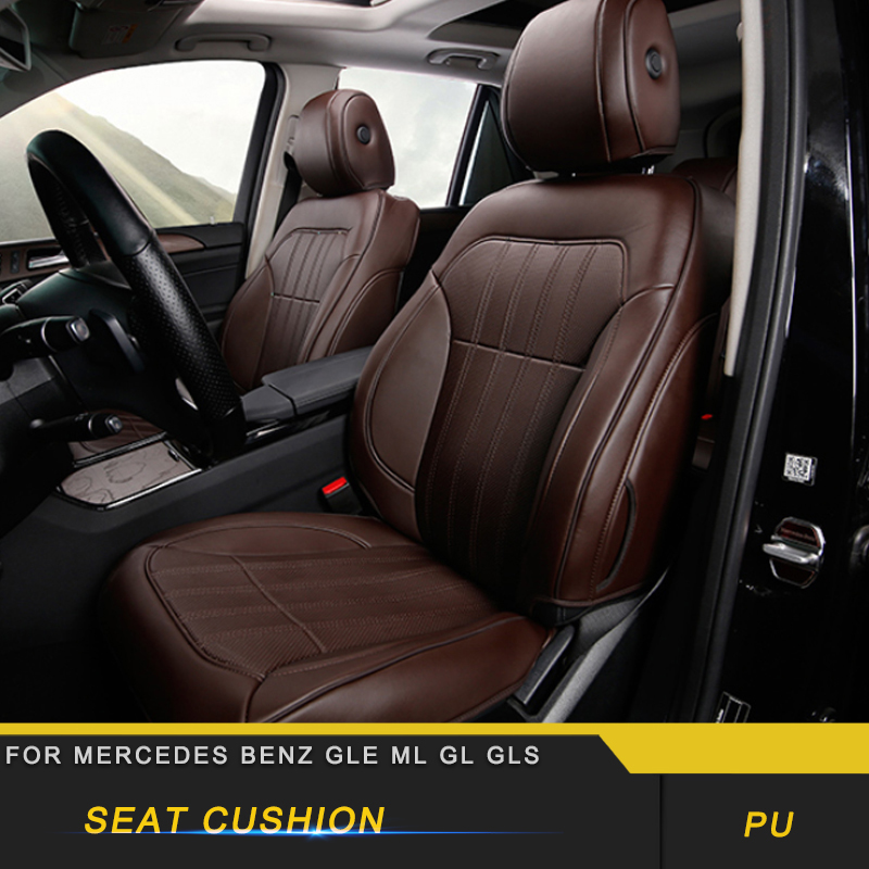 For Mercedes Benz GLE Car Seat Cover Four Seasons Flax Cushion Breathable Protector Mat Pad Accessories
