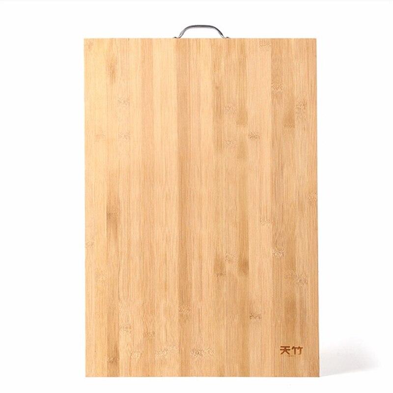 75 cm écologique bambou alimentaire planche à découper maison bois cuisine grand cas panneau grand hachage bloc de fruits