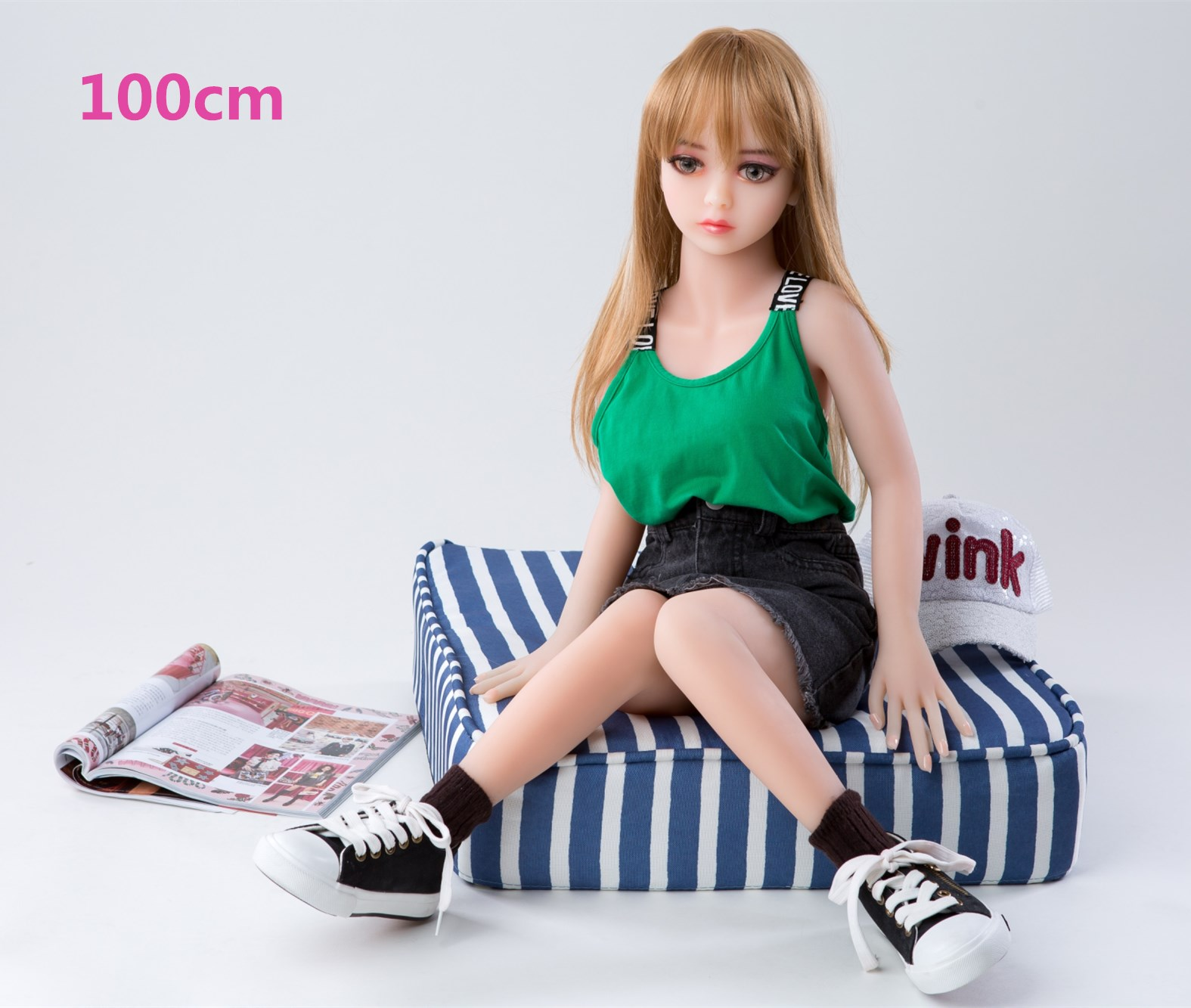 100cm real solid TPE silicone sex dolls head with metal skeleton realistic oral vagina anal non inflatable erotic love dolls toy in Sex Dolls from Beauty Health