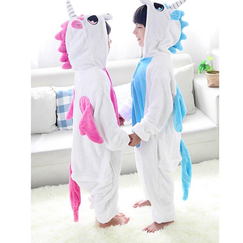 Nico unicorn unicorn pack size children clothing of female male animals pajamas sleepwear jumpsuit cosplay costume
