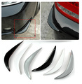 2pcs/lot Car Bumper Protector head side Edge Protection Guards Stickers for all car automobile accessory