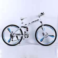 цены Folding bicycle cross-country bicycle Fold X6 MTB 26 inch bicycle dual disc brakes bike