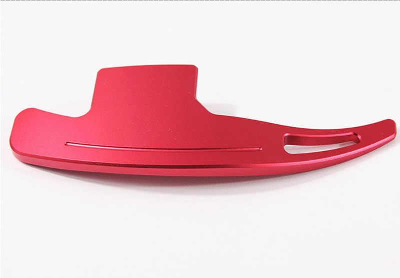 Скобы с обушком на новый комплект из 2 предметов, Алюминий рулевое колесо переключения передач расширение для Ford Mustang EcoBoost GT GT500 Шелби GT 350 для укладки волос