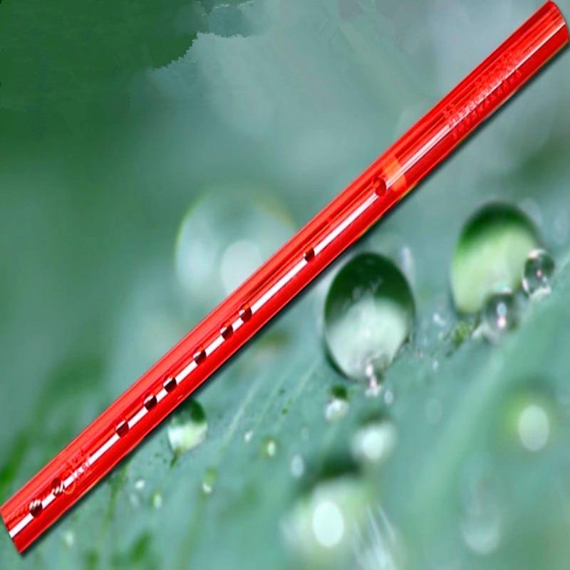 Flauta china de color Dizi Transverse fluta Concierto de cristal - Instrumentos musicales - foto 2