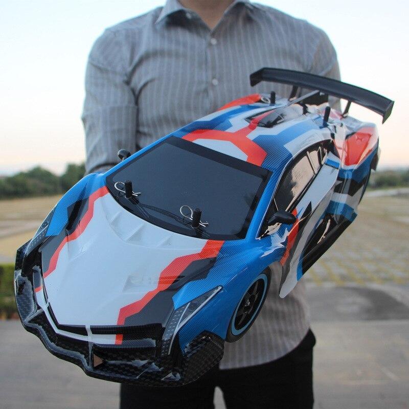 Voiture RC 1:10 voiture de course à grande vitesse pour Nissan GTR championnat 2.4G 4WD radiocommande Sport dérive course jouet électronique