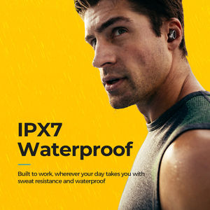 Image 3 - Mpow écouteurs Bluetooth T6 5.0 TWS, écouteurs sans fil, Mini oreillettes, IPX7, étanche avec 21 H, contrôle tactile