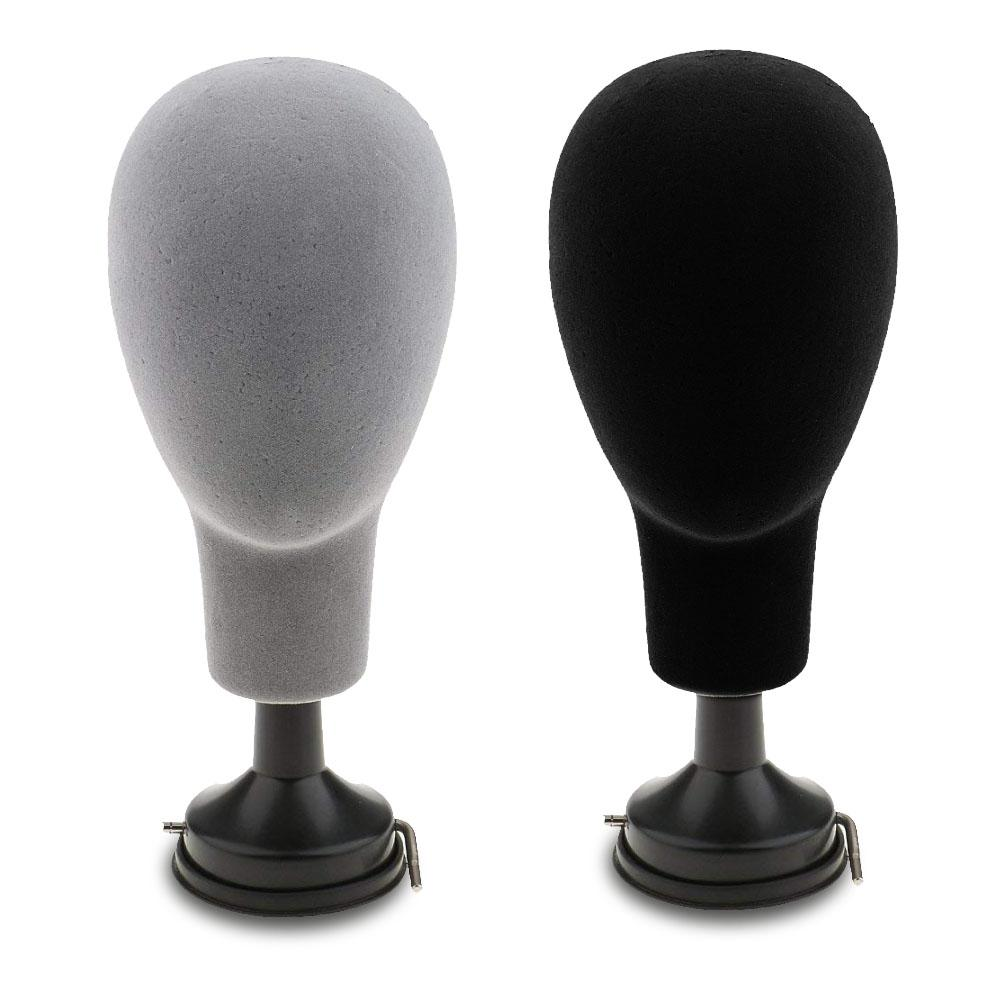 HOT SALE! 37cm Base Plate Styrofoam Mannequin Head Model Wigs Caps Glasses Display Stand Holder