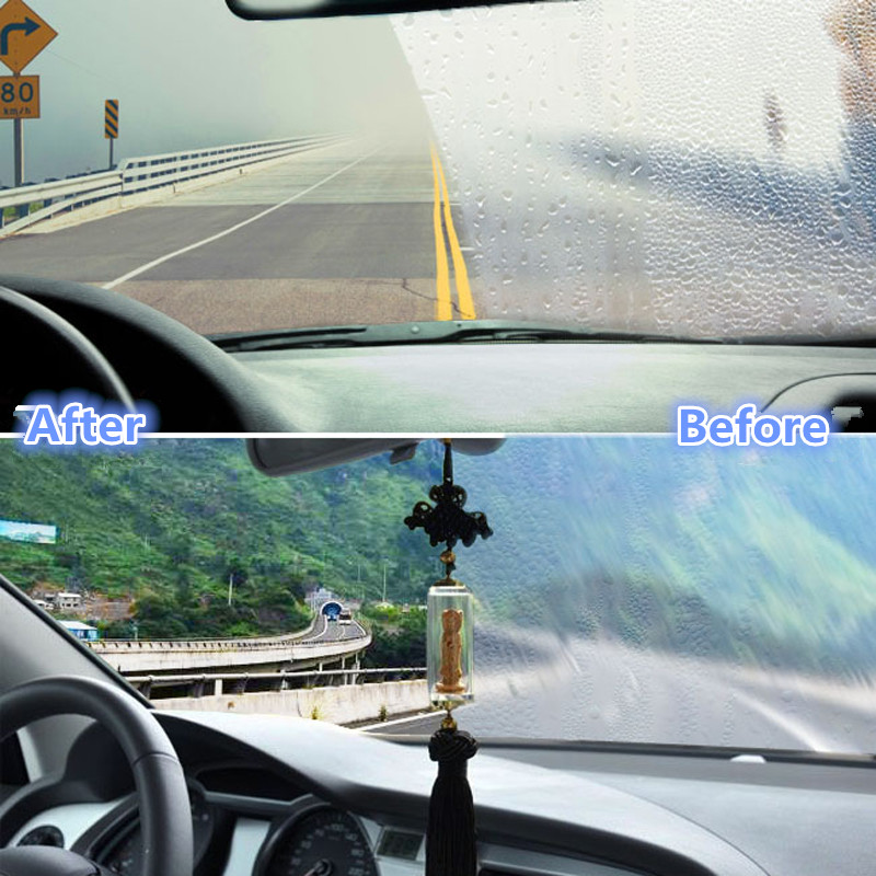 The new practical car anti fog towel Glass clean towel No fog mist towel 24 hours