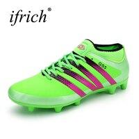 New Men Kids Soccer Cleats Brands Artificial Grass Spikes Shoes Sport Sneakers Mens Soccer Cleats 2016