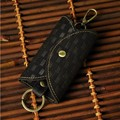 Genuine Cow Leather Bag Women Men Housekeeper Key Wallets Card Coin Holder New Fashion keys Bag
