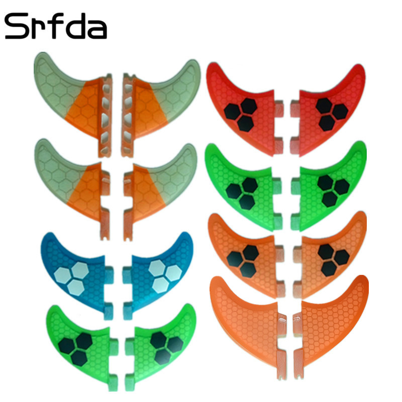 srfda surf fin for FUTURE FCS FCS2 box 2pcs/Set GL GX K2.1 G3 G7 size surfboards fins fiberglass Surf Fin two pieces per set недорго, оригинальная цена
