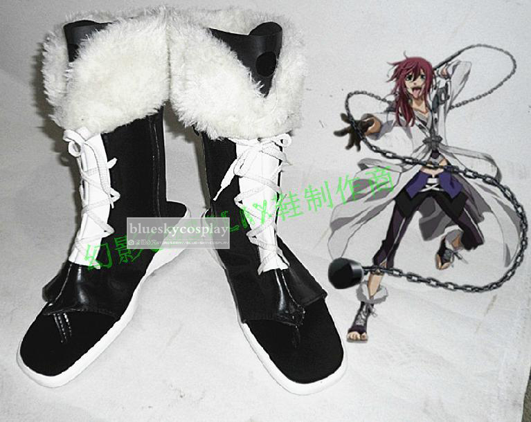 BRAVE10 Yuri Kamanosuke cosplay shoes boots  Custom-Made