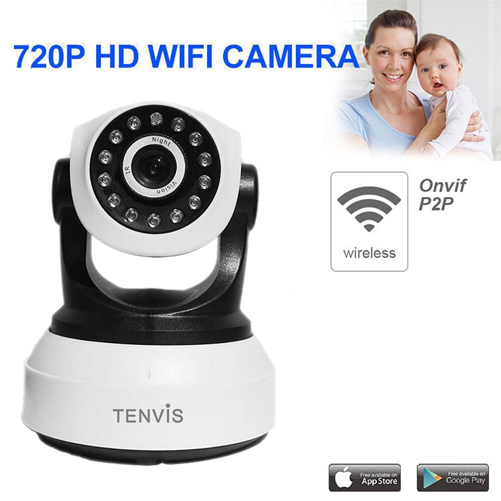 bilder für TENVIS Ip-kamera WiFi Wireless Home Security Kamera Überwachungskamera 720 P Baby Monitor Nachtsicht Cctv-kamera Onvif P2P Cam