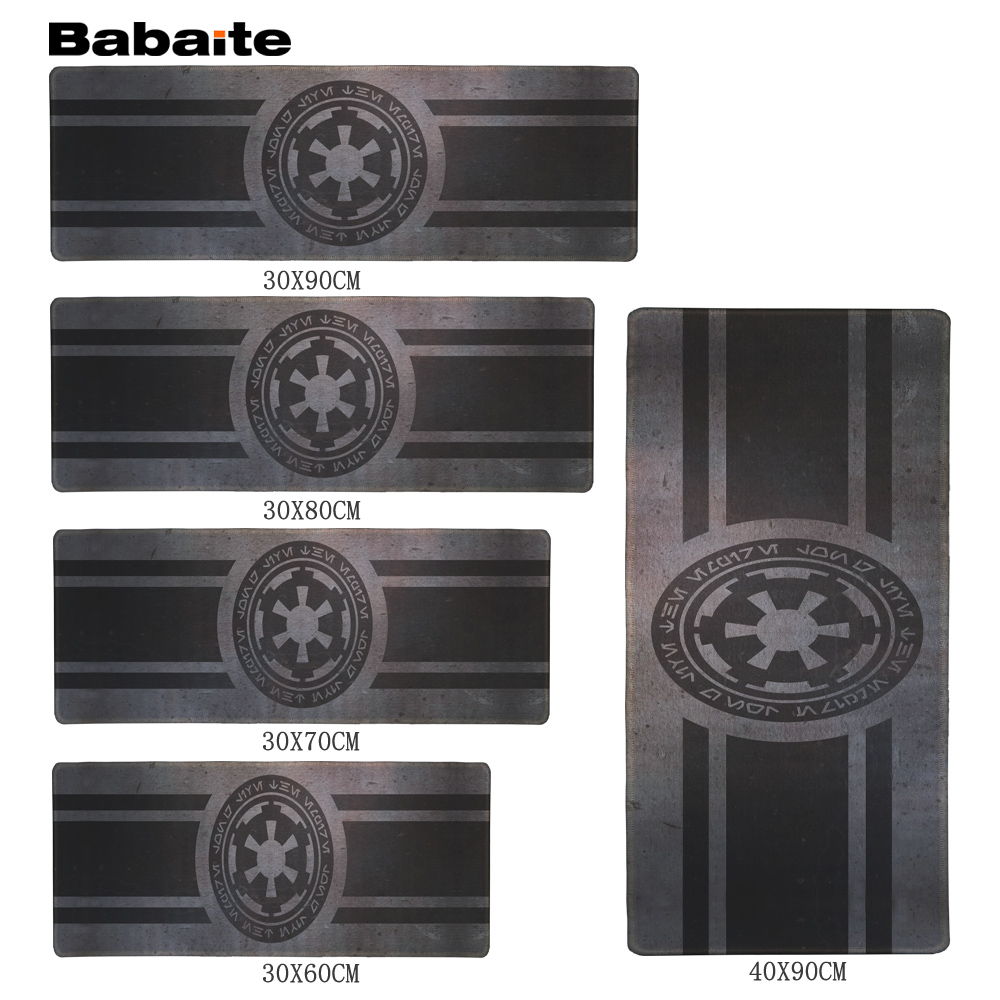 Babaite For Star Wars Gaming Edition Mouse Pad 900 * 300mm XL Edge of Locking Mouse Pad for Laptop Dota 2 CS GO