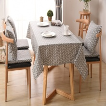 Moden Linen Table Cloth Country Style Plaid Print Multifunctional Rectangle Table Cover Tablecloth Home Kitchen Decoration simanfei linen table cloth country style plaid print stylish rectangle table cover tablecloth home kitchen decoration