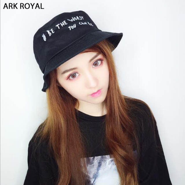 Hot selling 2018 BTS Fashion K POP Hip Hop Bucket Hats popular style  Letters embroidery Boonie dbbd4c51680