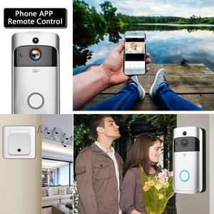 Image 5 - WIFI פעמון חכם IP וידאו אינטרקום וידאו דלת טלפון דלת פעמון מצלמה עבור דירות IR מעורר אבטחה אלחוטית מצלמה