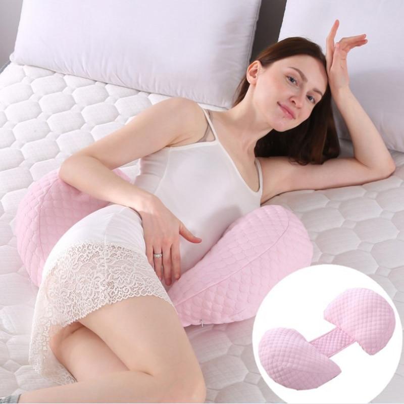 Side Sleepers Bedding Body Cotton Pillowcase U Shape Maternity Pregnant Women New 2019 Pillows Pregnancy Sleeping Support Pillow