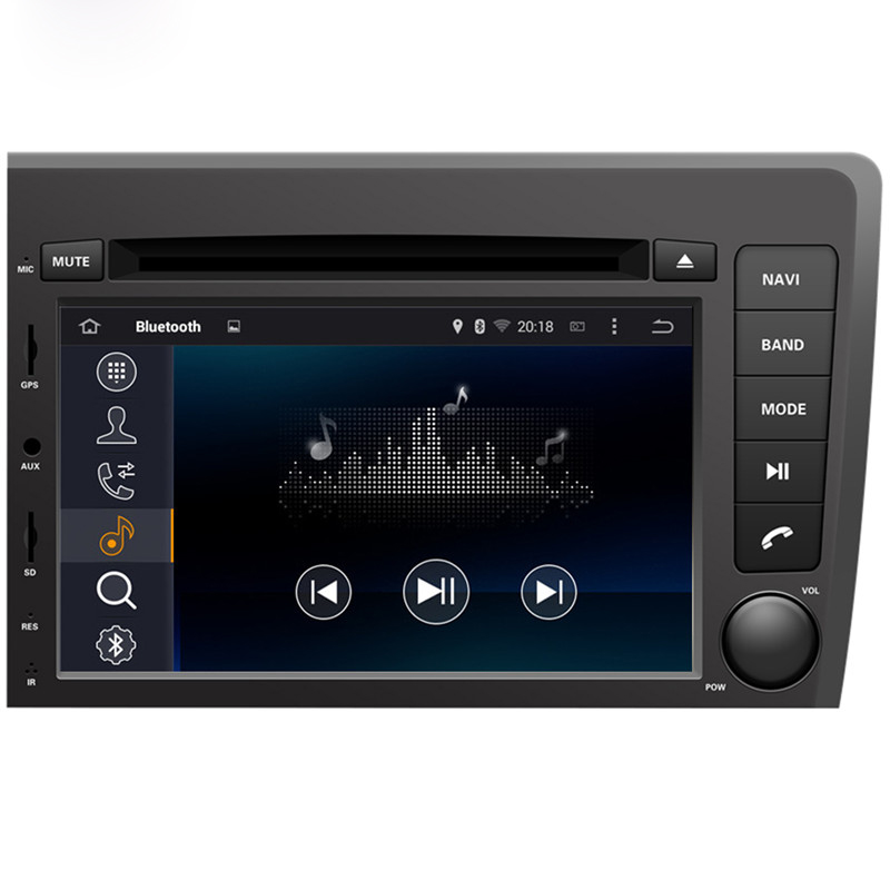 Android 7 1 car dvd GPS for Volvo S60 V70 2001 2004 gps navigation bluetooth wifi