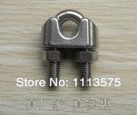 16mm, 304,321,316 Stainless Steel Wire Rope Clip Fascetta hardware sartiame, vendita diretta Della Fabbrica