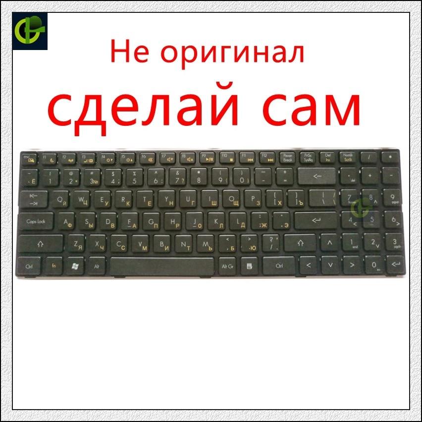 DIY Russian Keyboard For DNS A560P K580P 0129308 TWH N12P AETWH700010 2B-41516Q100 TWH-N12P-GV2 AETWHA00010 RU Need Processing