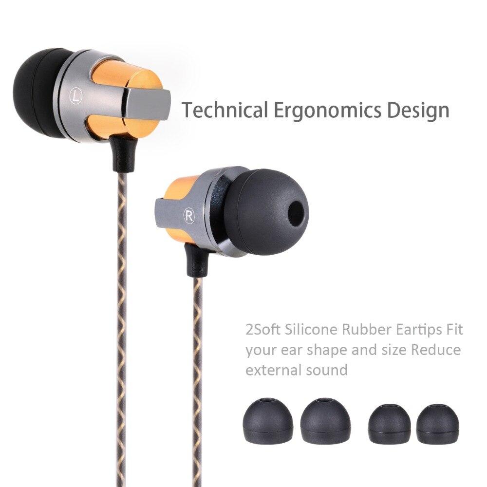Bada hörlurar med hörlurar med hörlurar med mikrofon Magnetisk - Bärbar ljud och video - Foto 2