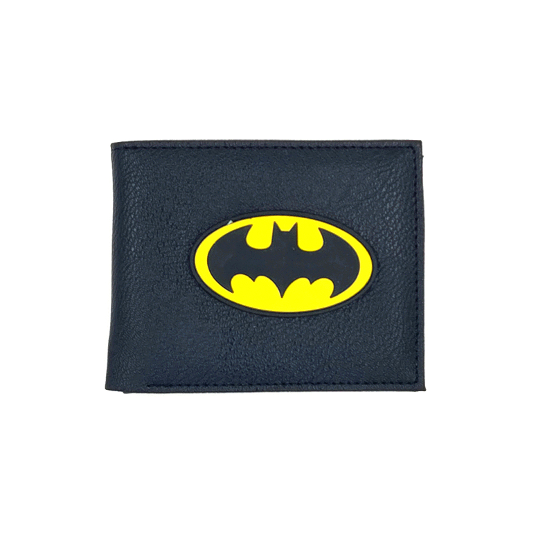 3d logo high quality woman man purse wukong starwars wallets cartable black batman purse card solt wallet