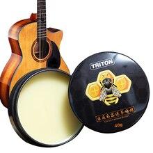 Купить с кэшбэком Guitar Care Beewax Wood Butter Wood Music Instrument Maintenance Beeswax Wax Great For Leather Pipe Wood Working Waxing Wax