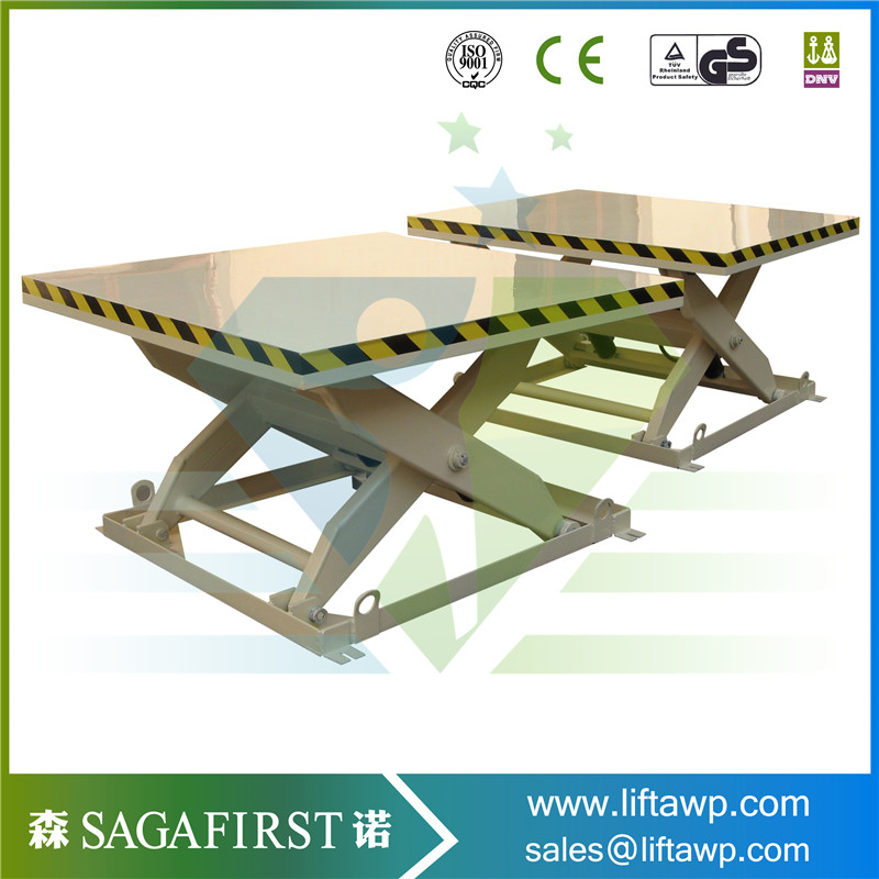Vertical Scissor Cargo Lift For Warehouse