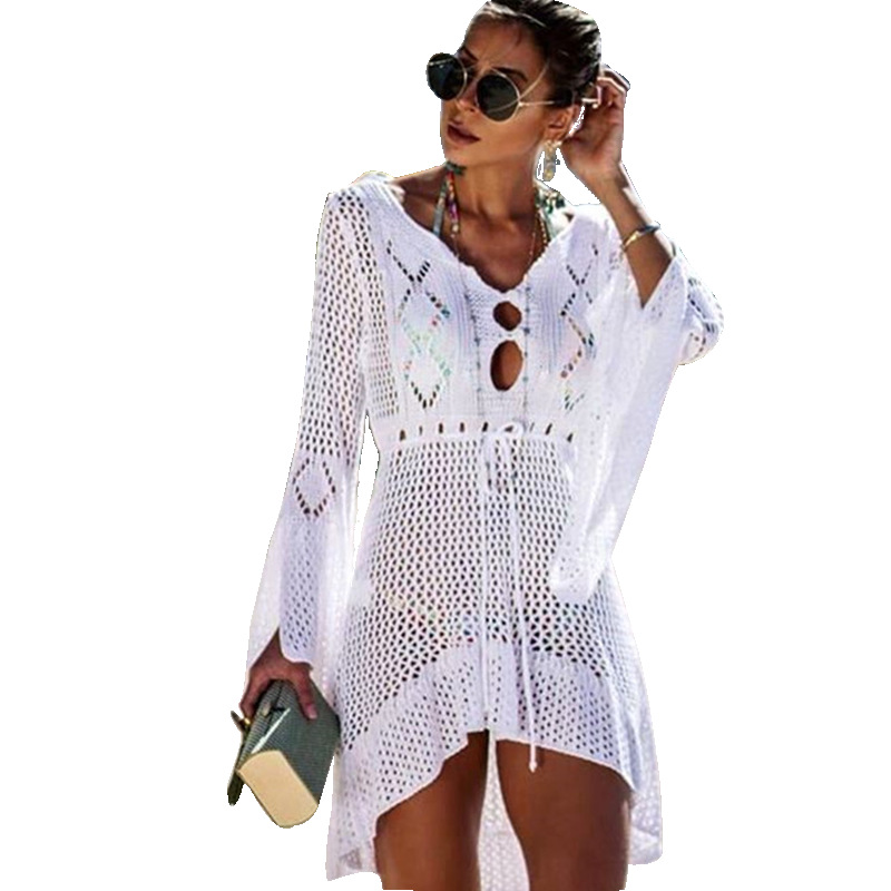Bathing Suit Cover Ups Summer Beach Dress Swimsuit Cover Up Womens Bathing Suit Women Plus Size Beach Wear Swimsuit for Women in Cover Ups from Sports Entertainment